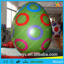 Decorated Easter Eggs For Sale by 3m Large Pvc Inflatable Easter Egg Decoration For Advertising On
