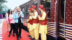 maharaja express train railways roll out red carpet for corporates in luxury train