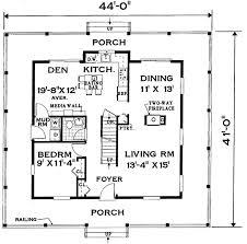single story floor plans wrap around porch