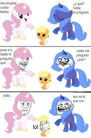 Mlp Luna Meme - celestia y luna discusion version meme by fluttershyflyyay on