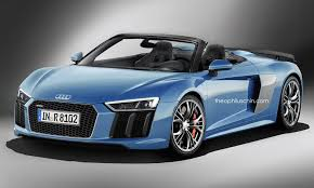 second generation audi r8 second generation audi r8 v10 plus rendered as a spyder model