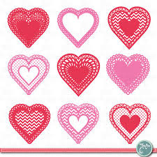 heart doilies heart shaped doilies clipart doilies clip