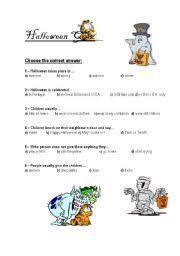 halloween quiz worksheet by alducha72