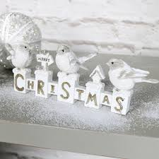 merry christmas sign white merry christmas sign with robins melody maison