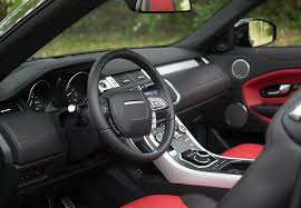 land rover convertible interior hire range rover evoque cabriolet rent range rover evoque