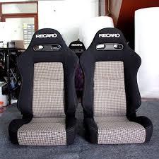 siege auto cars 2 jdm recaro sr4 white black tomcat seats eg ek racing auto cars 300