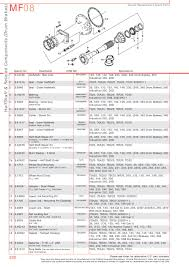 massey ferguson rear axle page 300 sparex parts lists