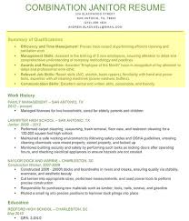 Janitor Job Description For Resume resume profile 10 career objective section uxhandy com