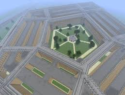 Pentagon Map Pentagon Replica Minecraft Project