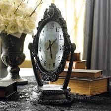 macabre home decor animated haunted reveal clock grandin road blog