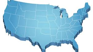 Usa Map Blank by United States Map 3d Stock Images Royaltyfree Images Vectors Us