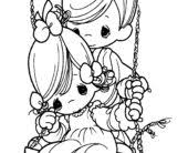 coloring pages free printable precious moments coloring pages