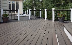 composite decking pros and cons time to build