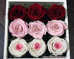 roses in a box 9 eternal roses in a wooden box last a year montreal west