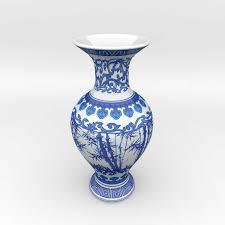 Chinese Blue And White Vase Chinese Blue White Porcelain