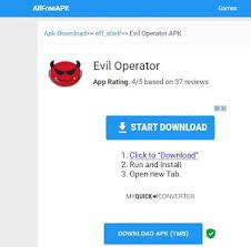 evil operator apk عالم النت والبرامج تطبيق مخيف evil operator للاندرويد see it