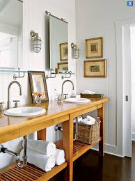 White Cottage Bathroom Vanity by Cottage Bathroom Ideas Design Ideas