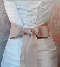 grosgrain ribbon belt blush grosgrain ribbon 2 25 inch wde pale mauve ribbon sash