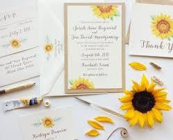 sunflower wedding invitations sunflower wedding invitations sunflower wedding invitations