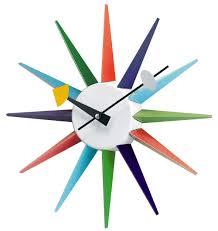 Herman Miller Clock Parsimonia Secondhand With Style Mid Century Monday Atomic Clocks