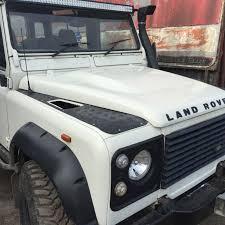 land rover defender landrover defender puma bonnet in fibreglass
