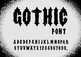 imagenes goticas letras fuente gótica fuente antigua letras góticas alfabeto vintage