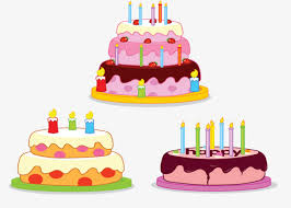 three big cakes chocolate cake cream cake the fruit cake png