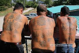 ayutthaya samnak kob sak yant tattoos three thai men wit u2026 flickr
