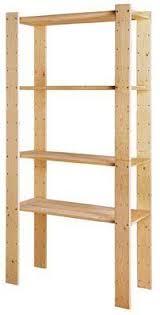 Unfinished Bookshelves by Best 25 Pine Shelves Ideas On Pinterest Galvanized Pipe