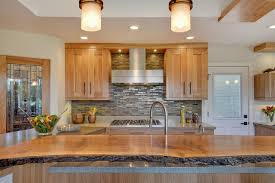 wood top kitchen island live wood edge island top contemporary kitchen san francisco