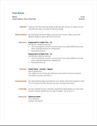 Resume With Accomplishments Resumes And Cover Letters Office Com
