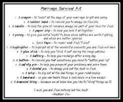 wedding gift kits 28 best marriage survival kit images on wedding gifts