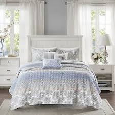 Geometric Coverlet Madison Park Pure Dermot 4 Piece Coverlet Set Blue 405 Pen