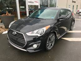hyundai veloster turbo matte black used 2016 hyundai veloster turbo in kentville used inventory