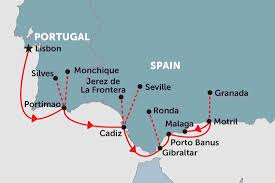 Map Of Morocco And Spain by Spain Tours Travel U0026 Trips Peregrine Adventures