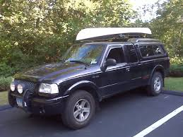 Ford Ranger Truck Canopy - homemade roof rack on the cap all done ranger forums the