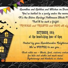 halloween party invitations for free holidays and observances