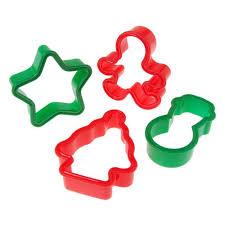 buy 4 plastic cookie cutter set cappel s