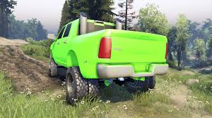 Dodge 3500 Truck Tires - ram 3500 dually v1 1 green for spin tires