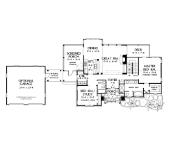unusual design ideas 3 cottage home plans with garage angled house