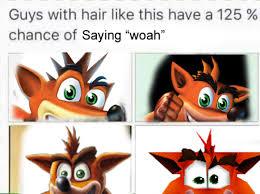 Crash Bandicoot Meme - crash bandicoot woah memes are taking over the internet