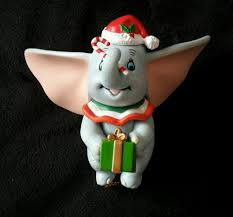 grolier disney christmas magic dumbo ornament rare in original box