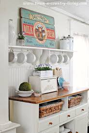 how to add a bit of kitchen color town u0026 country living