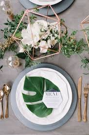 wedding table settings 7 gorgeous table settings that make greenery the wedding