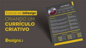 Indesign Resume Tutorial 2014 Tutorial De Indesign Criando Um Currículo Criativo Designs Net