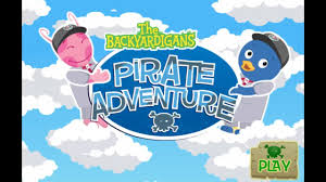 the backyardigans pirate adventure game for kids youtube