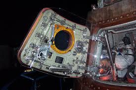 Lunar Module Interior Lagniappe Johnson Space Center Photographs