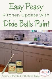 best company to paint kitchen cabinets easy peasy kitchen update with dixie paint these
