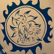 sun tribal tattoo ninetales and espeon tribal tattoo sun by otakuchips on deviantart