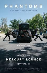 Pergola Lounge Nyc by Phantoms U2013 Tickets U2013 Mercury Lounge U2013 New York Ny U2013 October 13th